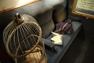 Interior Carriages of Hogwarts Express